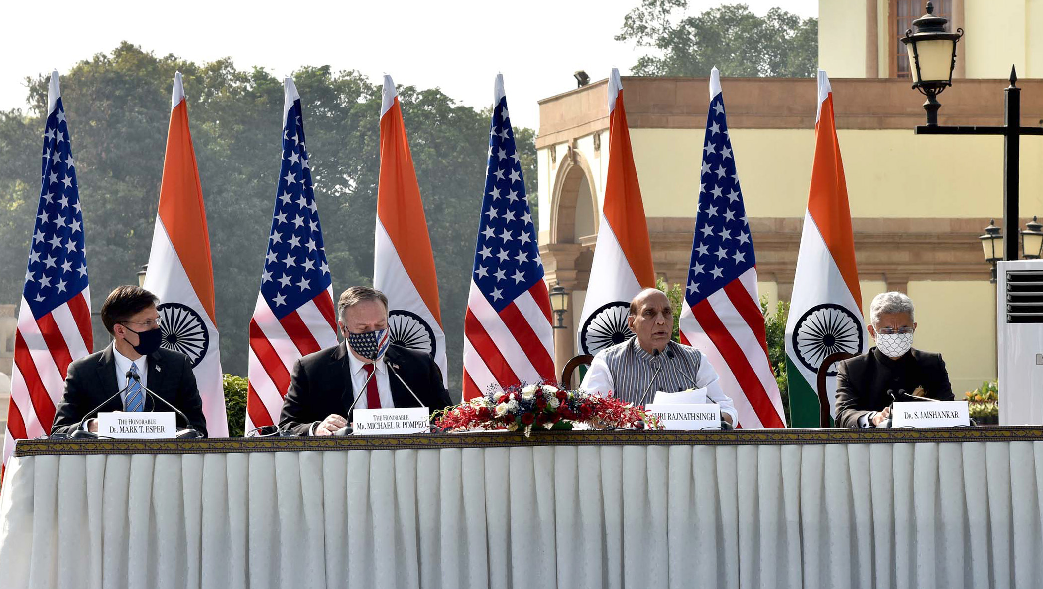 US-India Strategic Partnership Touches Himalayan Heights in 2020