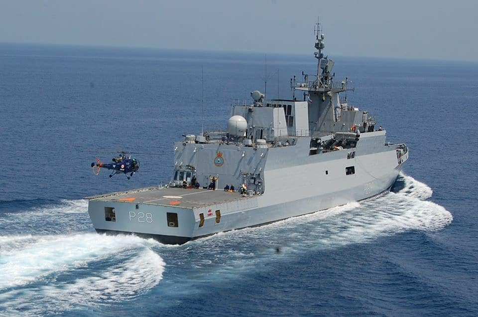 Indian Navy – Sri Lanka Navy Maritime Exercise SLINEX-20 off Trincomalee