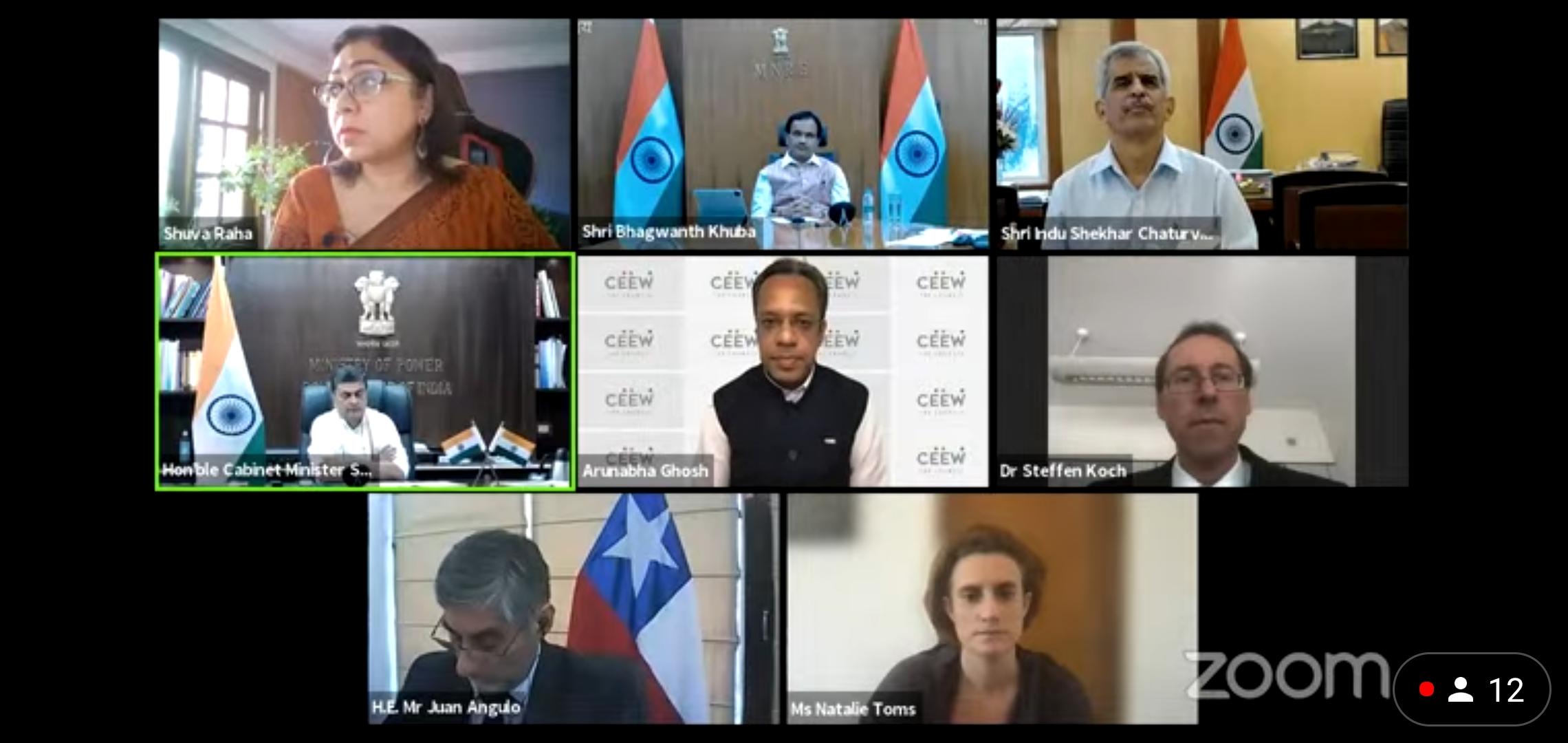भारत ने यूएनएचएलडीई के अंतर्गत ऊर्जा परिवर्तन के लिए चार सर्वोत्तम वैश्विक देशों – चिली, डेनमार्क, जर्मनी और यूके को औद्योगिक ऊर्जा परिवर्तन पर चर्चा करने के लिए आमंत्रित किया