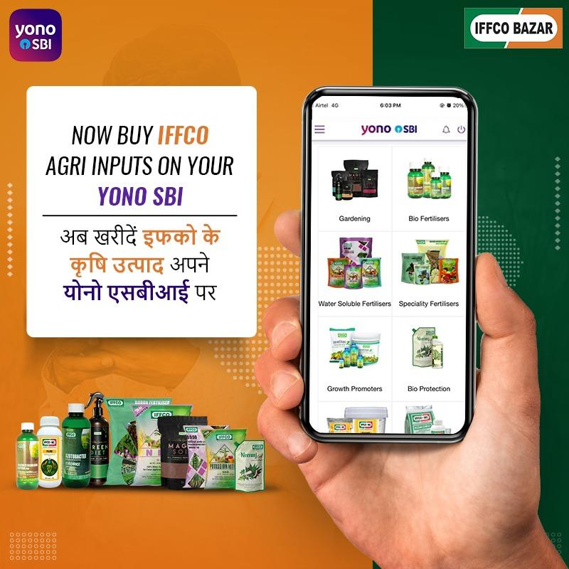 IFFCO Bazar Partners with SBI YONO Krishi App to Boost Quality Agri-Products in India