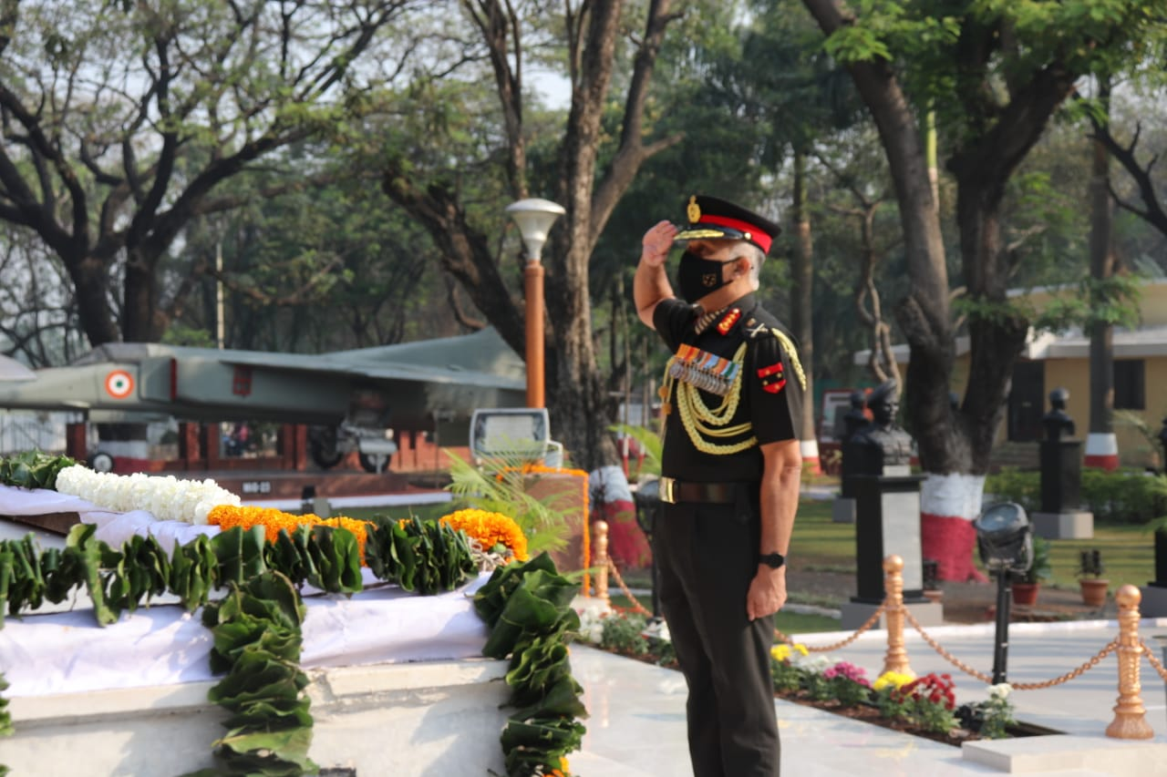Lieutenant General CP Mohanty, General Officer Commanding-in-Chief, Southern Command