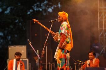The three day festival of spectacular cultural performances Rashtriya Sanskritiki Mahotsav at Darjeeling concludes