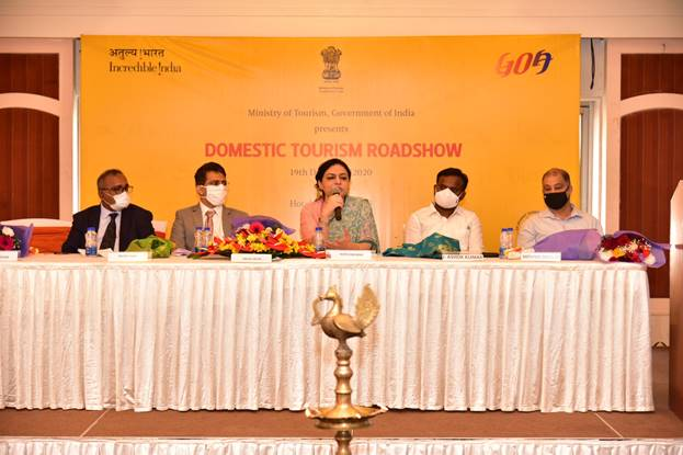 Ministry of Tourism organises Domestic Tourism roadshow in Goa