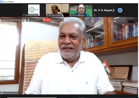 UNION MINISTER OF STATE FOR AGRICULTURE SHRI PARSHOTTAM RUPALA LAUNCHES RS. 10,000 CRORE NCDC AYUSHMAN SAHAKAR FUND FOR CREATION OF HEALTHCARE INFRASTRUCTURE BY COOPERATIVES #EDUCRATSWEB