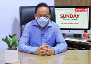 DR HARSH VARDHAN INTERACTS WITH SOCIAL MEDIA USERS DURING SUNDAY SAMVAAD-2 - EDUCRATSWEB.COM
