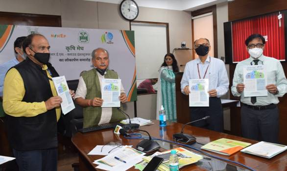 Union Minister of Agriculture & Farmers Welfare Shri Narendra Singh Tomar launches Krishi Megh