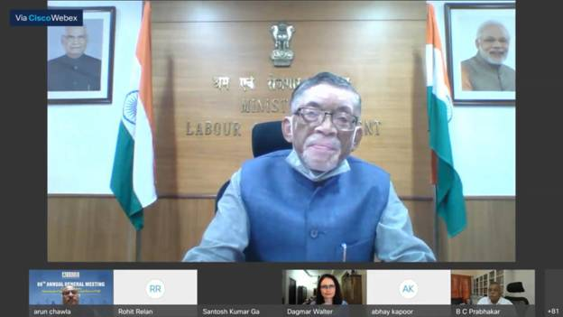 New Labour Codes will promote harmonious industrial relations, ensure higher productivity & create more jobs: Santosh Kumar Gangwar