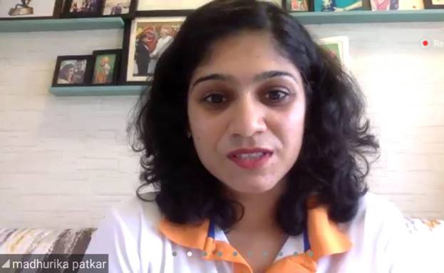 Arjuna Awardee Madhurika Patkar appeals to all to participate in the Fit India Freedom Run