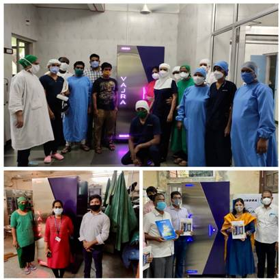 DST supported disinfection system makes N95 Masks, PPE, medical gear reusable and reduces excessive COVID 19 bio-medical waste generation