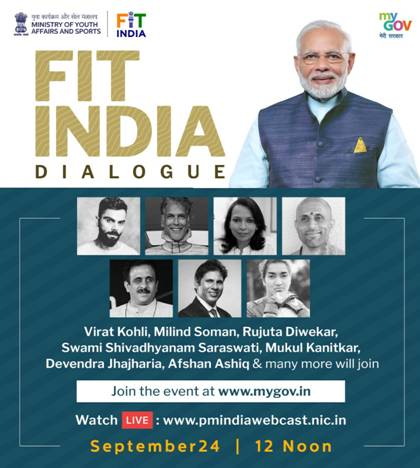 Renowned fitness influencers give a sneak peek into what they will share at Prime Minister Fit India Dialogue with fitness enthusiasts tomorrow