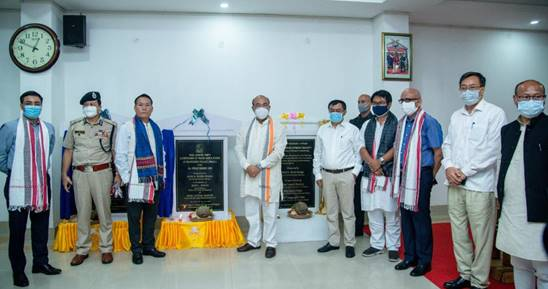 Water supply schemes under Jal Jeevan Mission inaugurated on the Indo-Myanmar border in Manipur