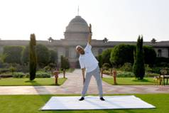 7th International Day of Yoga observed worldwide with great enthusiasm