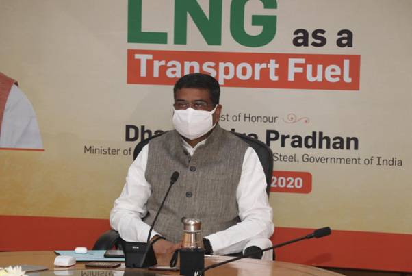 Dharmendra Pradhan calls for launching a campaign for Awareness of LNG Benefits
