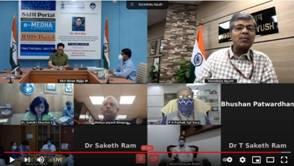 Minister of Ayush Shri Kiren Rijiju launches five Important Portals on Ayush sector