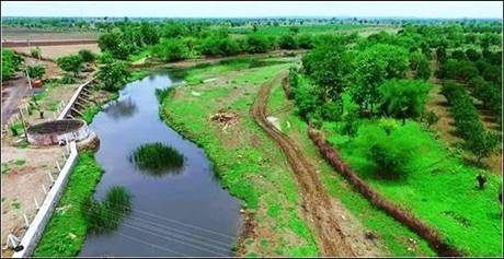 Mine water supply for irrigation from Saoner to Borgaon, WCL