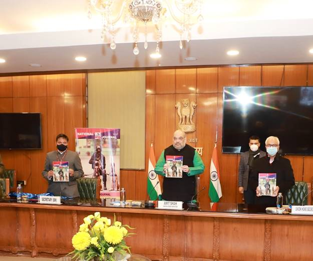 """Union Home Minister released the inaugural issue of """"National Police K-9 Journal"""""""