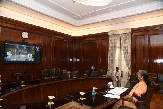 Finance Minister launches Uniform Training Programme for Induction and Mid-Level Training, including a module on Preventive Vigilance, for officers of Public Sector Banks