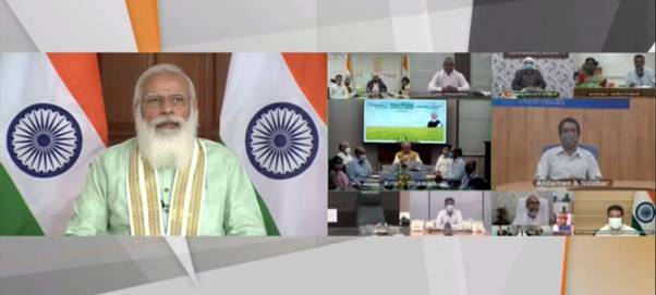 Union Agriculture Minister thanks Prime Minister for the focus on Gaon, Garib and Kisan