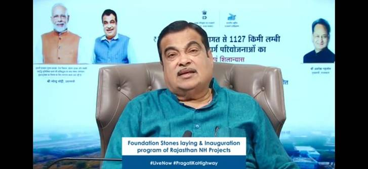 Nitin Gadkari Inaugurated 18 Highway Projects in Rajasthan