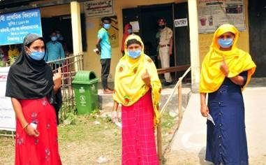 Polling for Phase 1 Assam and West Bengal Assembly Constituencies conducted peacefully & successfully