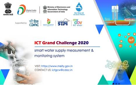 Grand ICT Challenge under Jal JeevanMission receives impressive response; Aims to harness vibrant Internet of Things eco-systems for creating smart rural water supply system