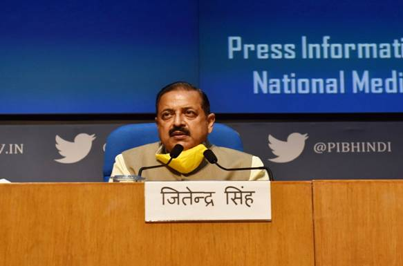 Union Minister Dr. Jitendra Singh hails setting up of the National Recruitment Agency (NRA) as a historic decision of Prime Minister Shri Narendra Modi