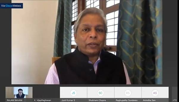 Technology can be an enabler for India to position itself as a global leader and build better international collaborations: Prof. K VijayRaghavan, PSA