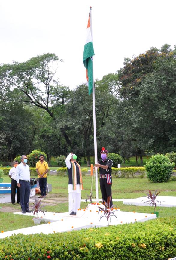 CSIR-CMERI, celebrates Independence Day